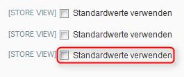 Magento: Massenänderung der Standardwerte von Kategorie-Einstellungen