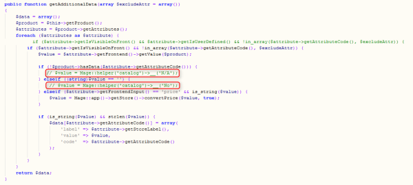 Additional Data / Attributes in Magento