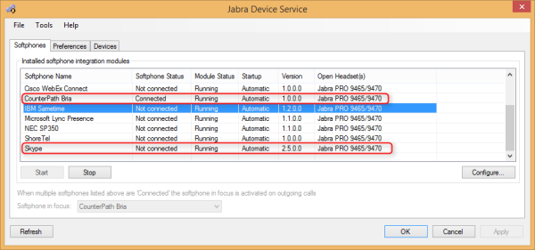 Jabra PC Suite - Device Service