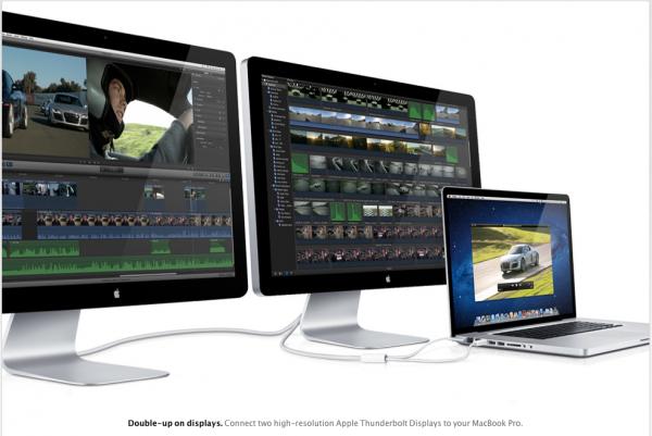 Thunderbolt display als workingsstation f 252 r macbook air und mac mini