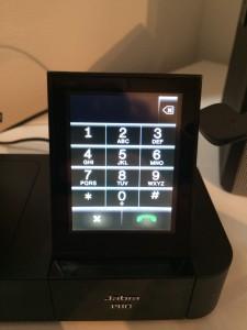 Jabra Pro 9470 - Wählblock per Touchscreen